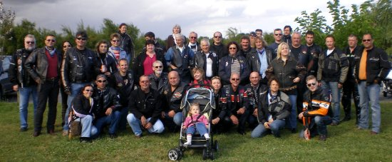 Rassemblement à Lesparre, 14 juillet 2008
